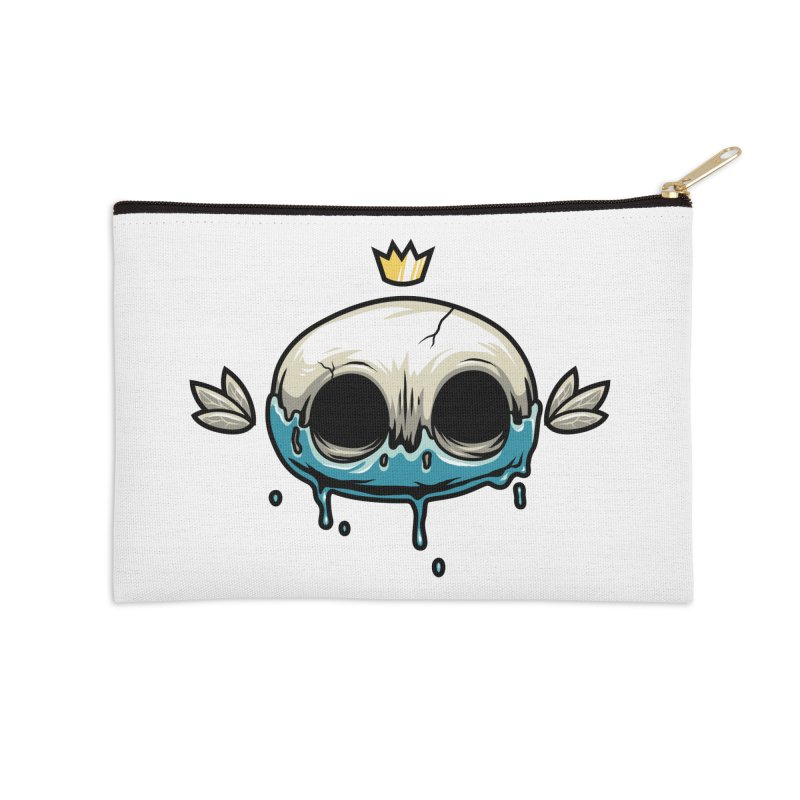 Skull Accessories Zip Pouch by anggatantama's Artist Shop