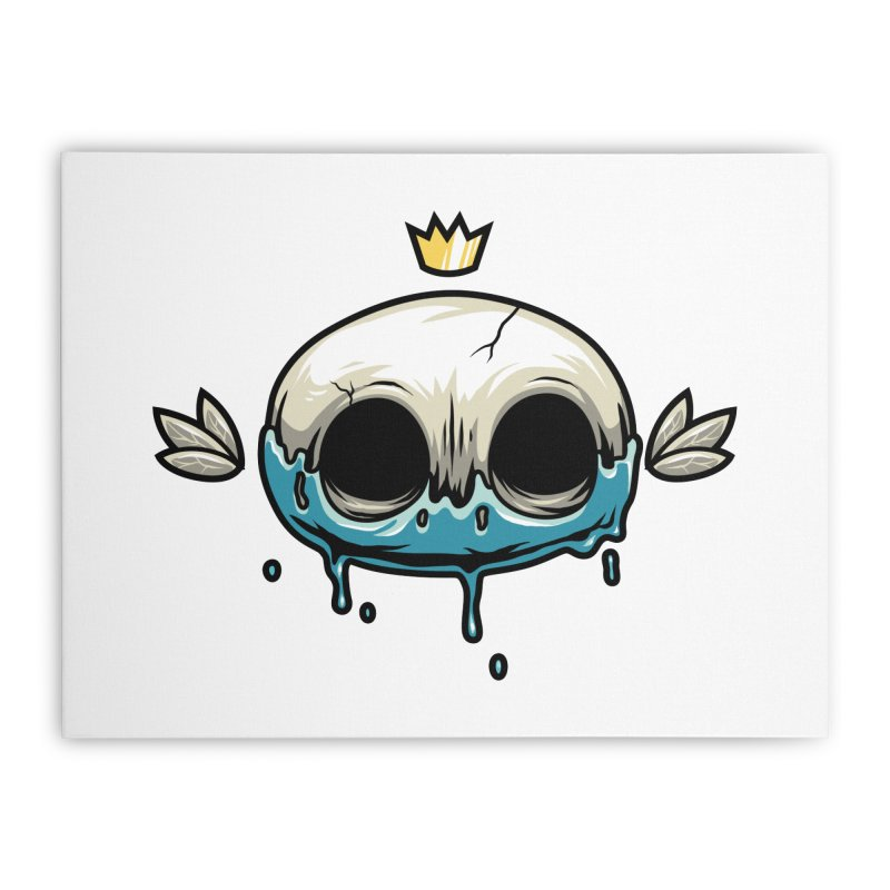Skull Home Stretched Canvas by anggatantama's Artist Shop