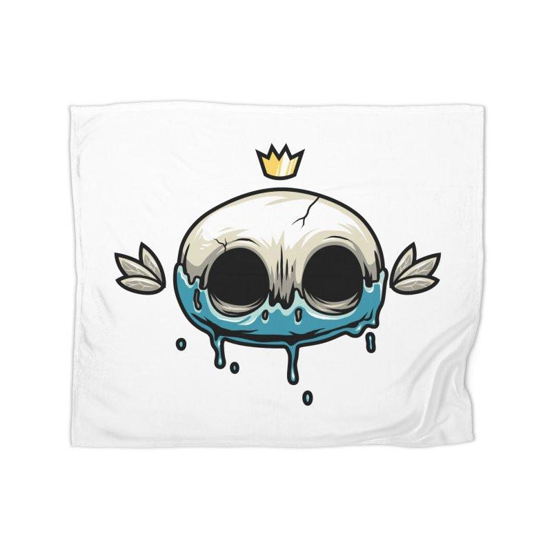Skull Home Blanket by anggatantama's Artist Shop