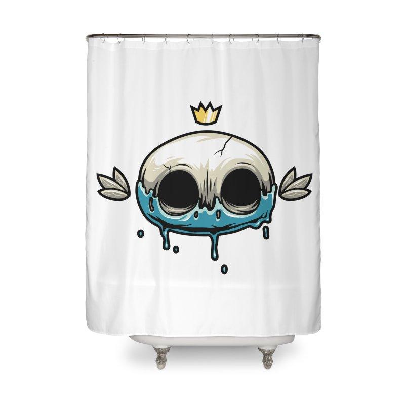 Skull Home Shower Curtain by anggatantama's Artist Shop