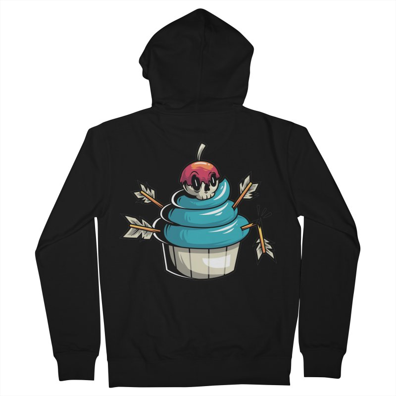 Cupcake Women's Zip-Up Hoody by anggatantama's Artist Shop
