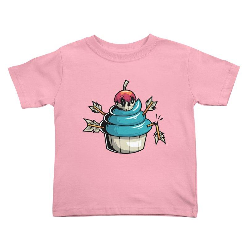 Cupcake Kids Toddler T-Shirt by anggatantama's Artist Shop