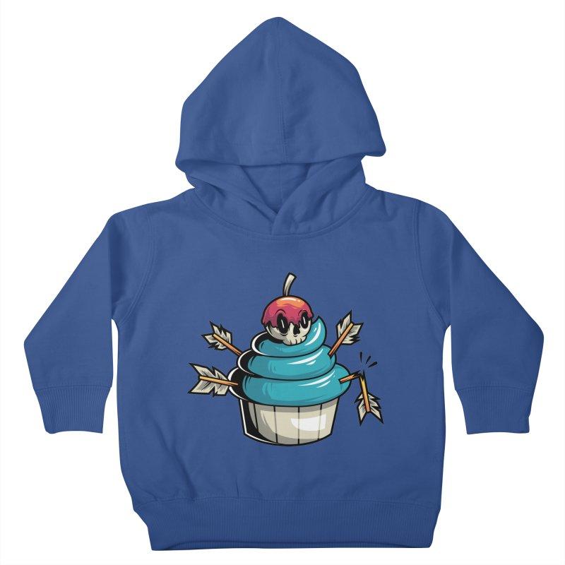 Cupcake Kids Toddler Pullover Hoody by anggatantama's Artist Shop