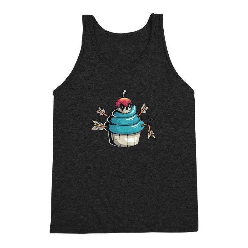 Cupcake Men's Triblend Tank by anggatantama's Artist Shop