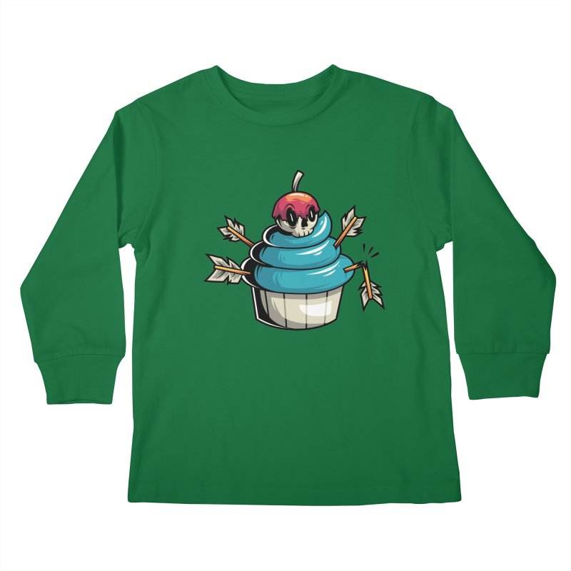 Cupcake Kids Longsleeve T-Shirt by anggatantama's Artist Shop