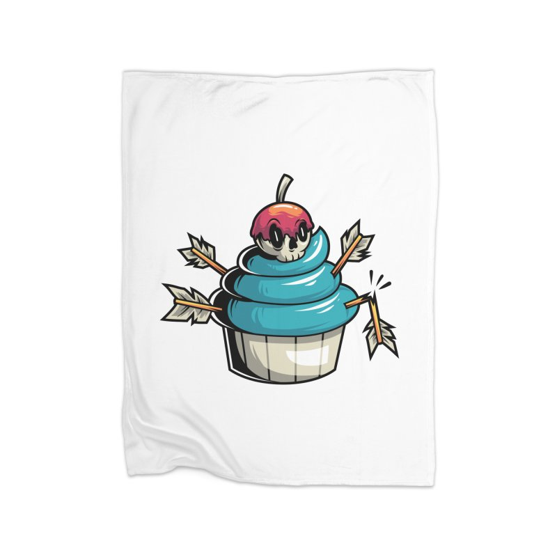Cupcake Home Blanket by anggatantama's Artist Shop