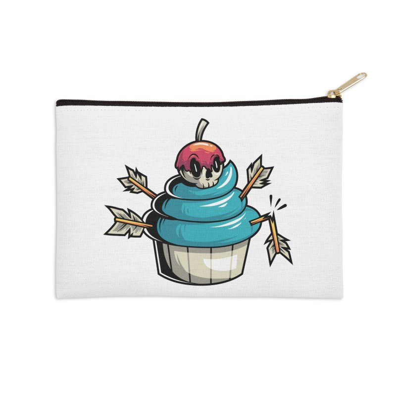 Cupcake Accessories Zip Pouch by anggatantama's Artist Shop