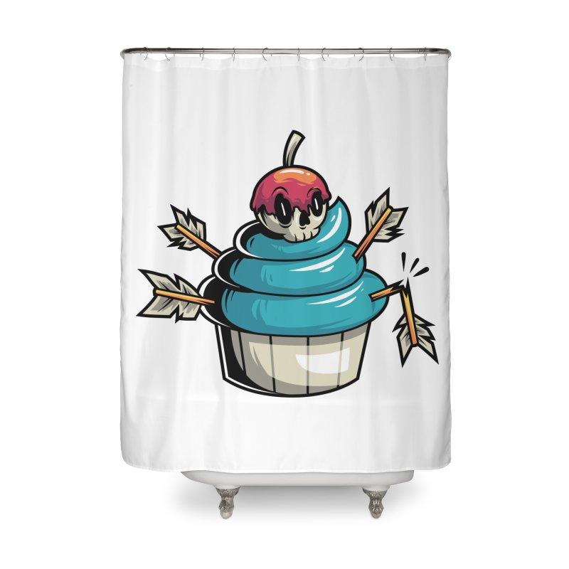 Cupcake Home Shower Curtain by anggatantama's Artist Shop