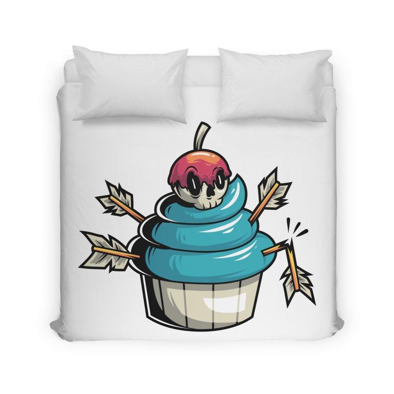 Cupcake Home Duvet by anggatantama's Artist Shop
