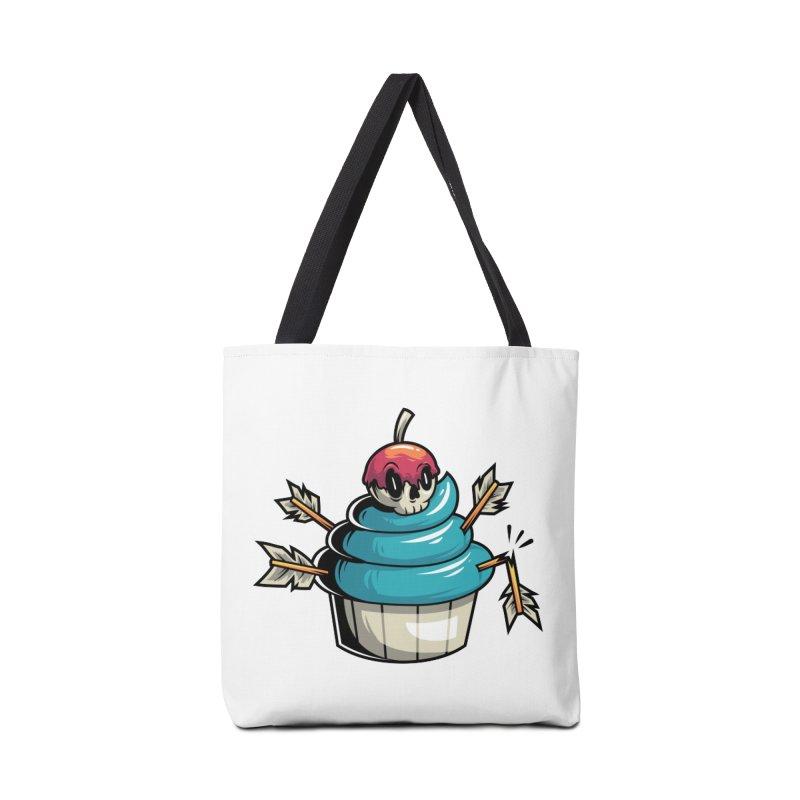 Cupcake Accessories Bag by anggatantama's Artist Shop
