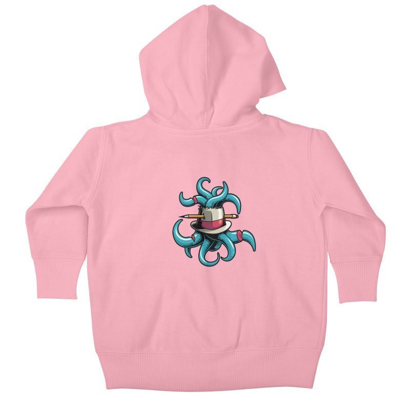 Creative explosion Kids Baby Zip-Up Hoody by anggatantama's Artist Shop