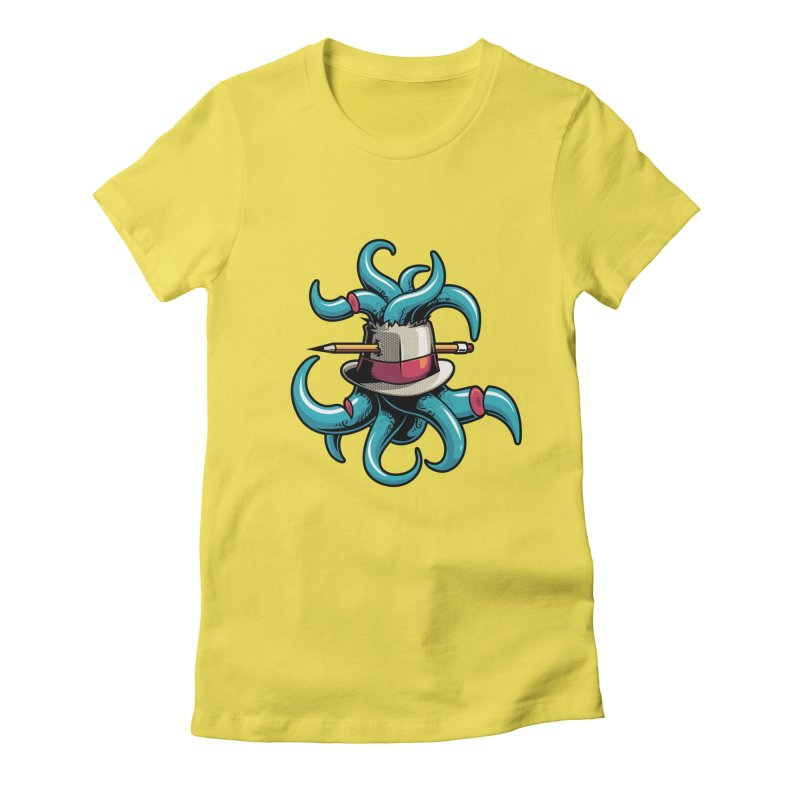 Creative explosion Women's Fitted T-Shirt by anggatantama's Artist Shop