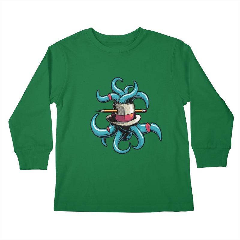 Creative explosion Kids Longsleeve T-Shirt by anggatantama's Artist Shop
