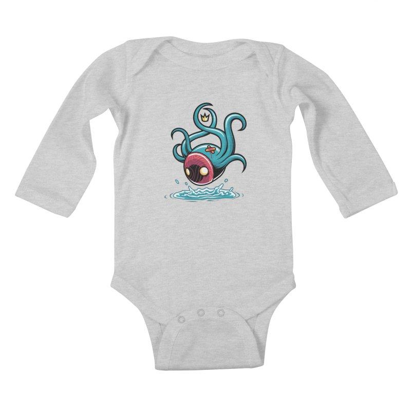 Refresh Kids Baby Longsleeve Bodysuit by anggatantama's Artist Shop
