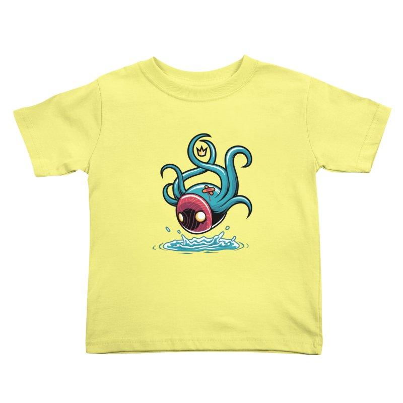 Refresh Kids Toddler T-Shirt by anggatantama's Artist Shop