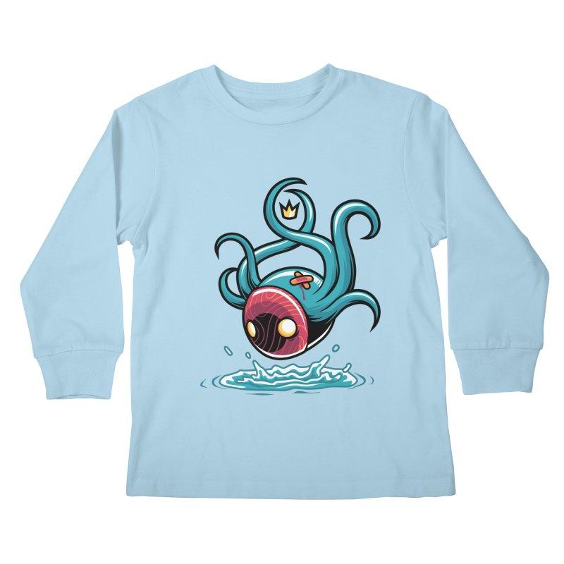Refresh Kids Longsleeve T-Shirt by anggatantama's Artist Shop