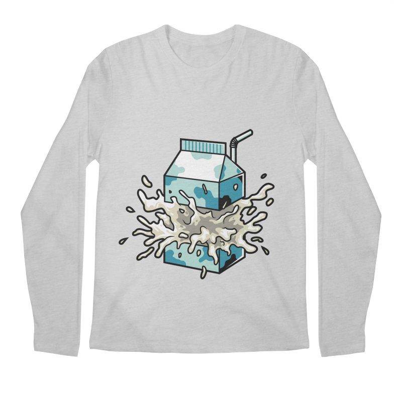 Milk Men's Longsleeve T-Shirt by anggatantama's Artist Shop