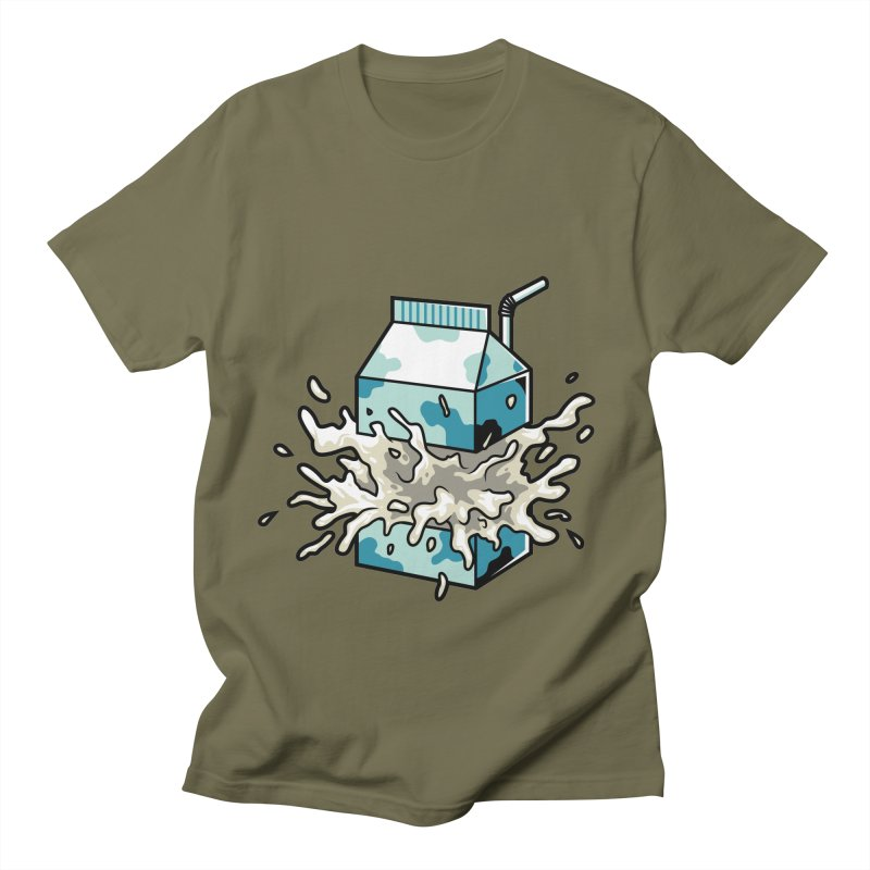 Milk Women's Unisex T-Shirt by anggatantama's Artist Shop