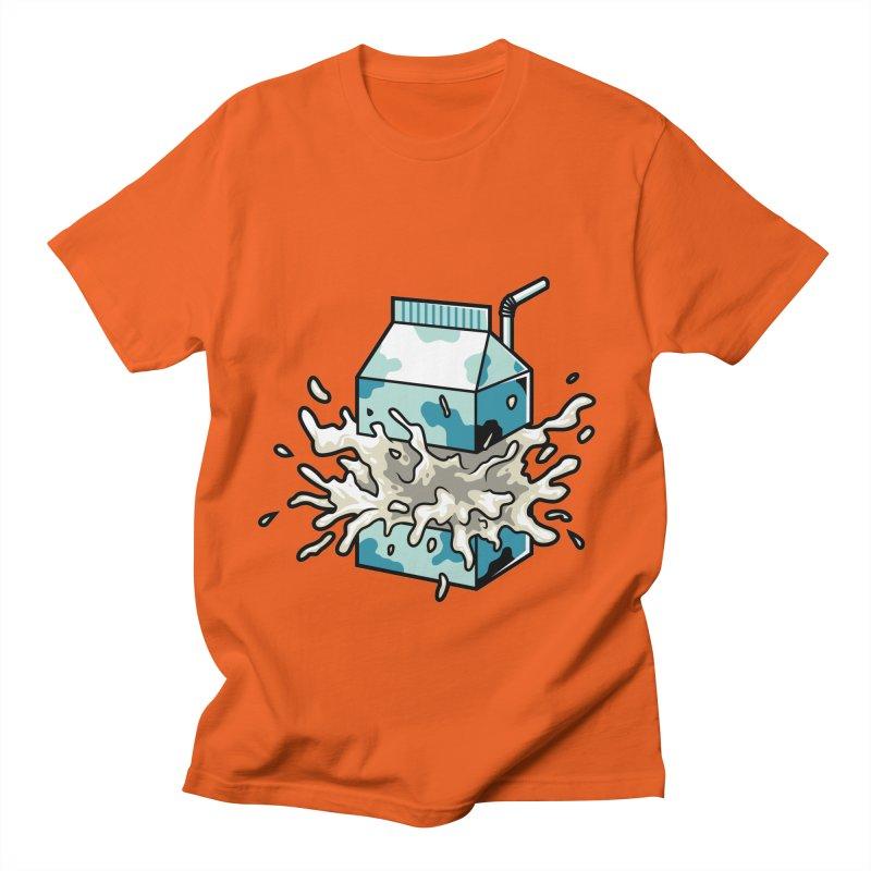 Milk Men's T-Shirt by anggatantama's Artist Shop