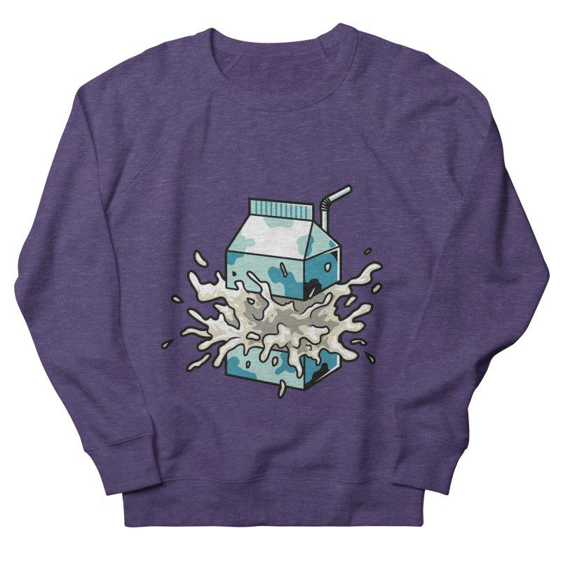 Milk Men's Sweatshirt by anggatantama's Artist Shop