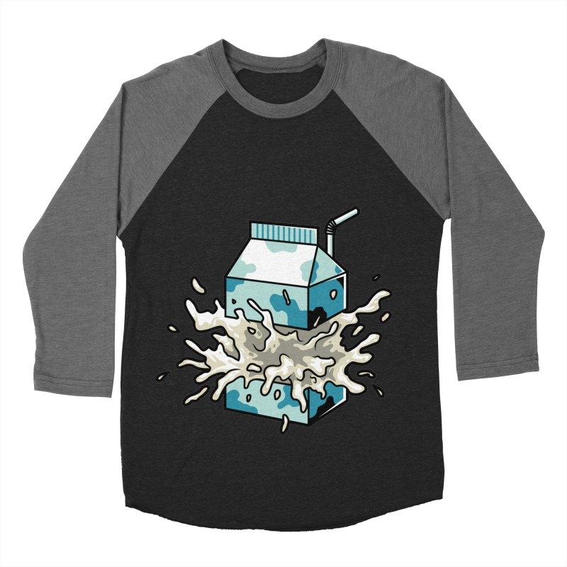 Milk Women's Baseball Triblend T-Shirt by anggatantama's Artist Shop