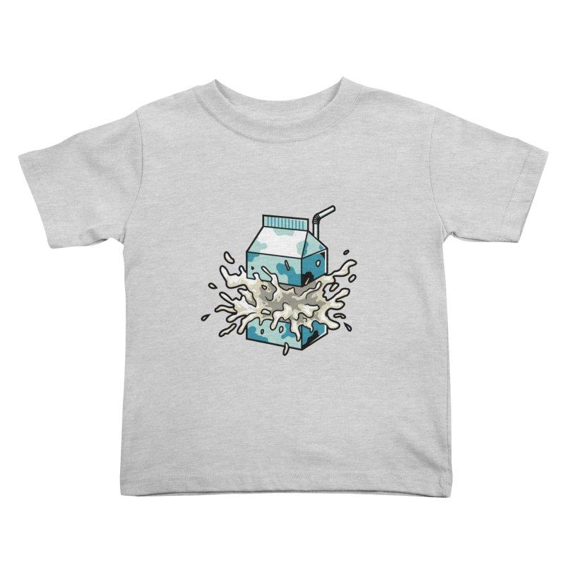 Milk Kids Toddler T-Shirt by anggatantama's Artist Shop