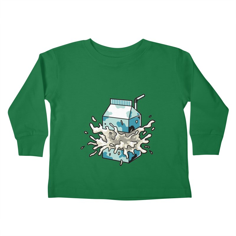 Milk Kids Toddler Longsleeve T-Shirt by anggatantama's Artist Shop