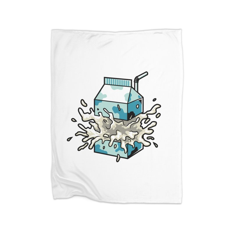 Milk Home Blanket by anggatantama's Artist Shop