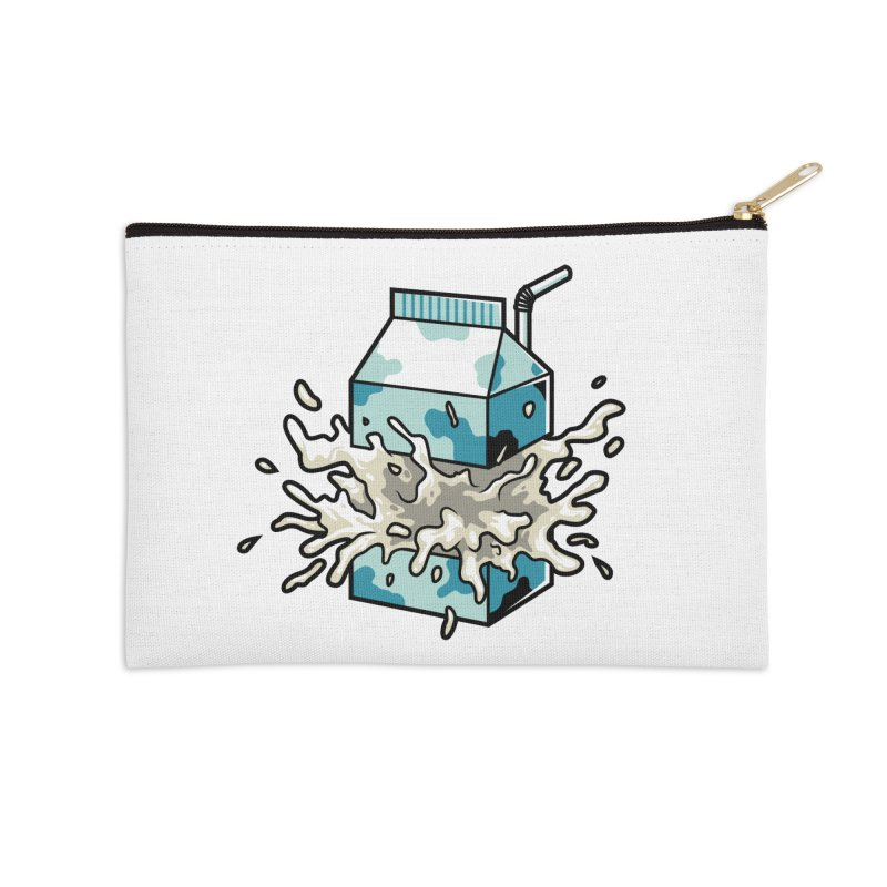 Milk Accessories Zip Pouch by anggatantama's Artist Shop