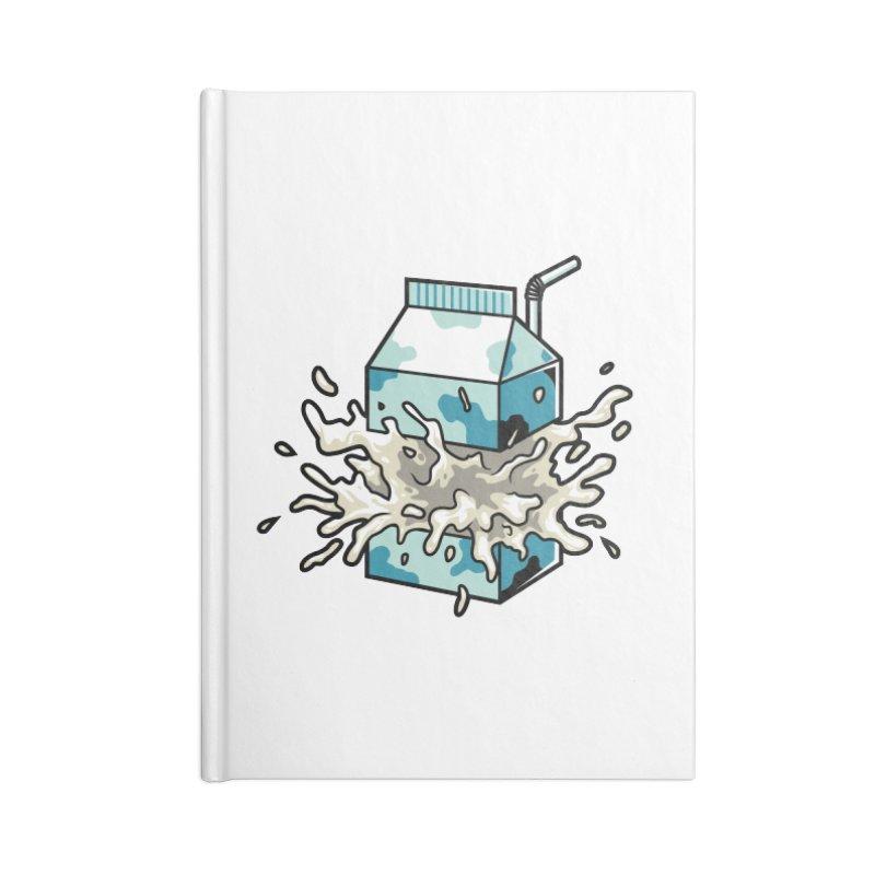 Milk Accessories Notebook by anggatantama's Artist Shop