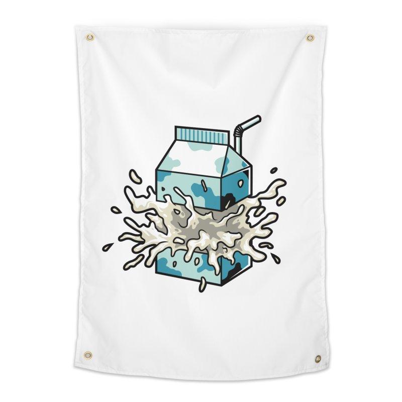 Milk Home Tapestry by anggatantama's Artist Shop