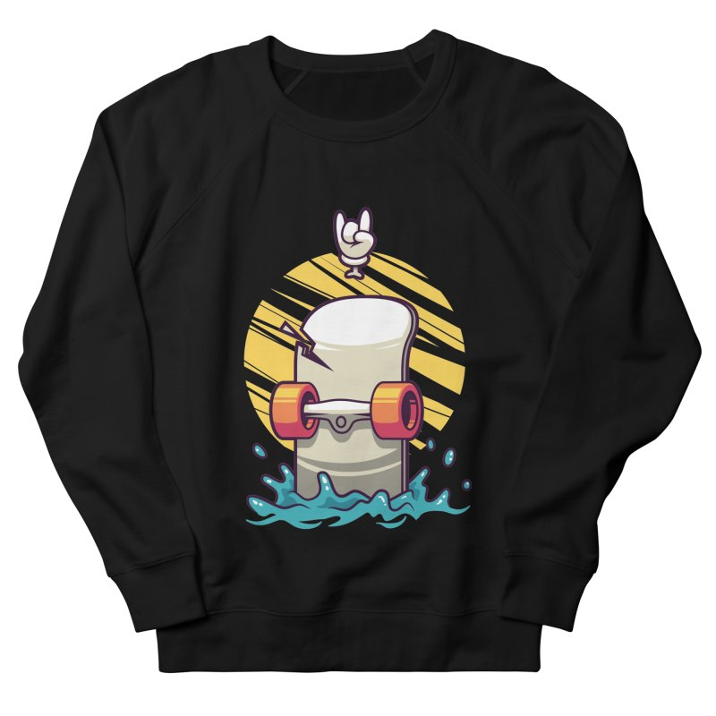Skate Women's Sweatshirt by anggatantama's Artist Shop