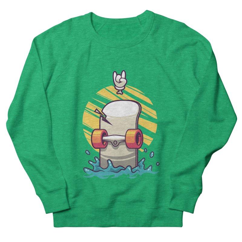 Skate Men's Sweatshirt by anggatantama's Artist Shop