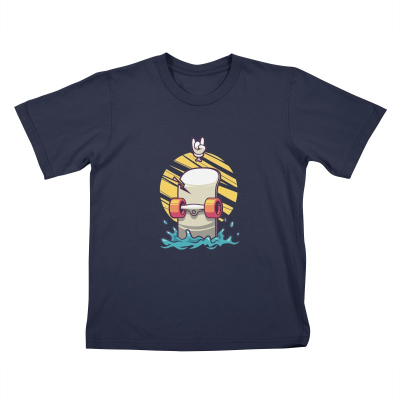 Skate Kids Toddler T-Shirt by anggatantama's Artist Shop