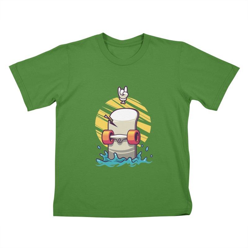 Skate Kids T-Shirt by anggatantama's Artist Shop