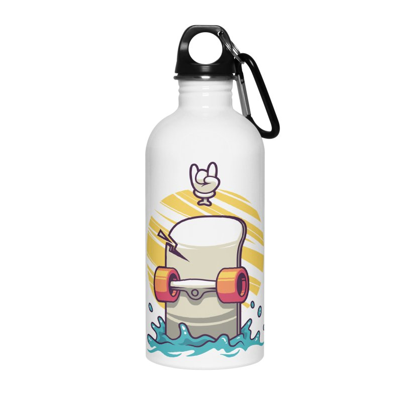 Skate Accessories Water Bottle by anggatantama's Artist Shop