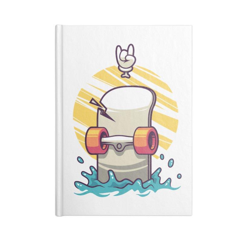 Skate Accessories Notebook by anggatantama's Artist Shop