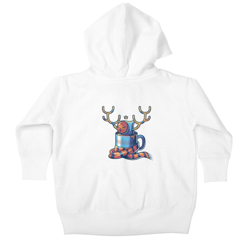 Slow Life Kids Baby Zip-Up Hoody by anggatantama's Artist Shop