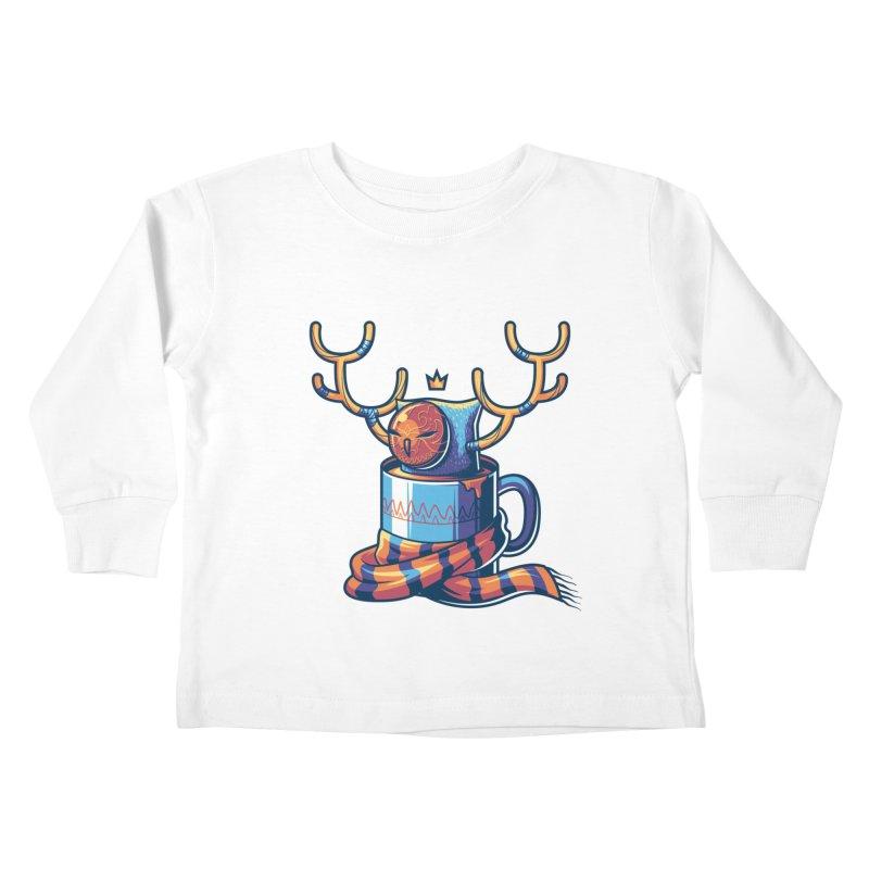 Slow Life Kids Toddler Longsleeve T-Shirt by anggatantama's Artist Shop