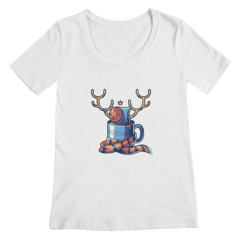 Slow Life Women's Scoopneck by anggatantama's Artist Shop