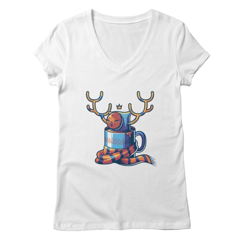 Slow Life Women's V-Neck by anggatantama's Artist Shop