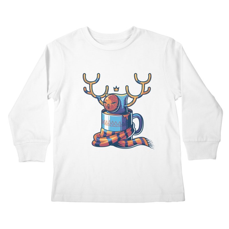 Slow Life Kids Longsleeve T-Shirt by anggatantama's Artist Shop