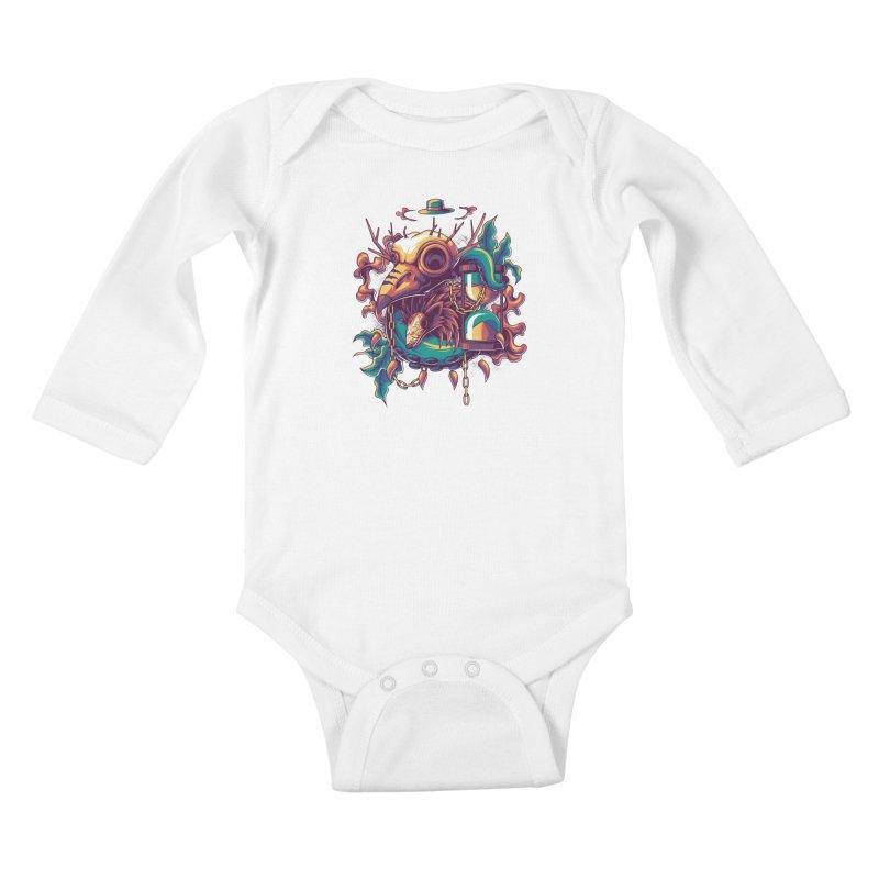 Hope in Nightmare Kids Baby Longsleeve Bodysuit by anggatantama's Artist Shop
