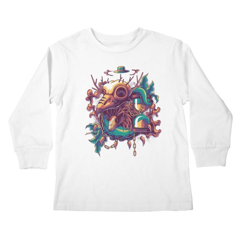 Hope in Nightmare Kids Longsleeve T-Shirt by anggatantama's Artist Shop