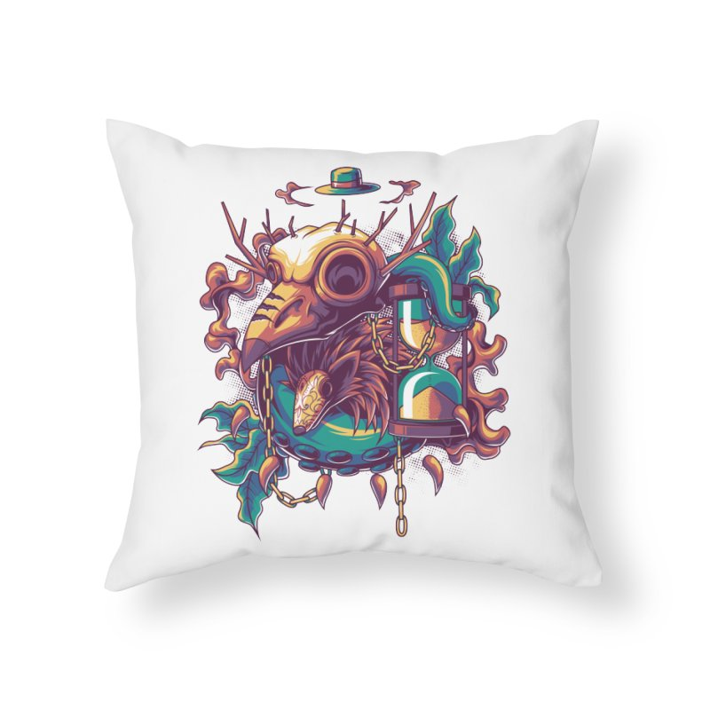 Hope in Nightmare Home Throw Pillow by anggatantama's Artist Shop
