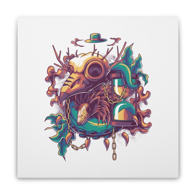 Hope in Nightmare Home Stretched Canvas by anggatantama's Artist Shop