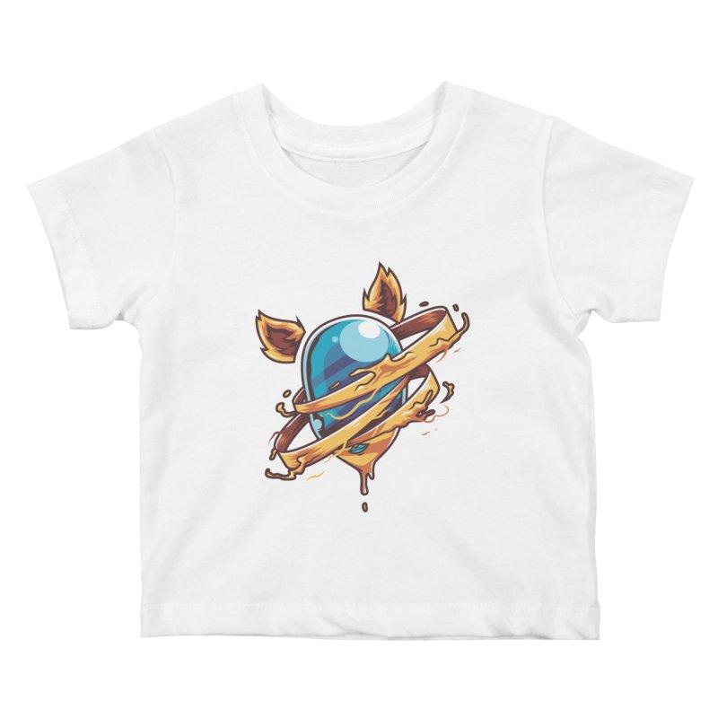Stubborn Kids Baby T-Shirt by anggatantama's Artist Shop