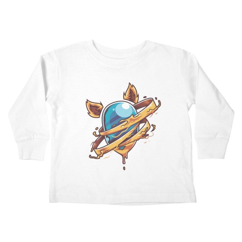 Stubborn Kids Toddler Longsleeve T-Shirt by anggatantama's Artist Shop