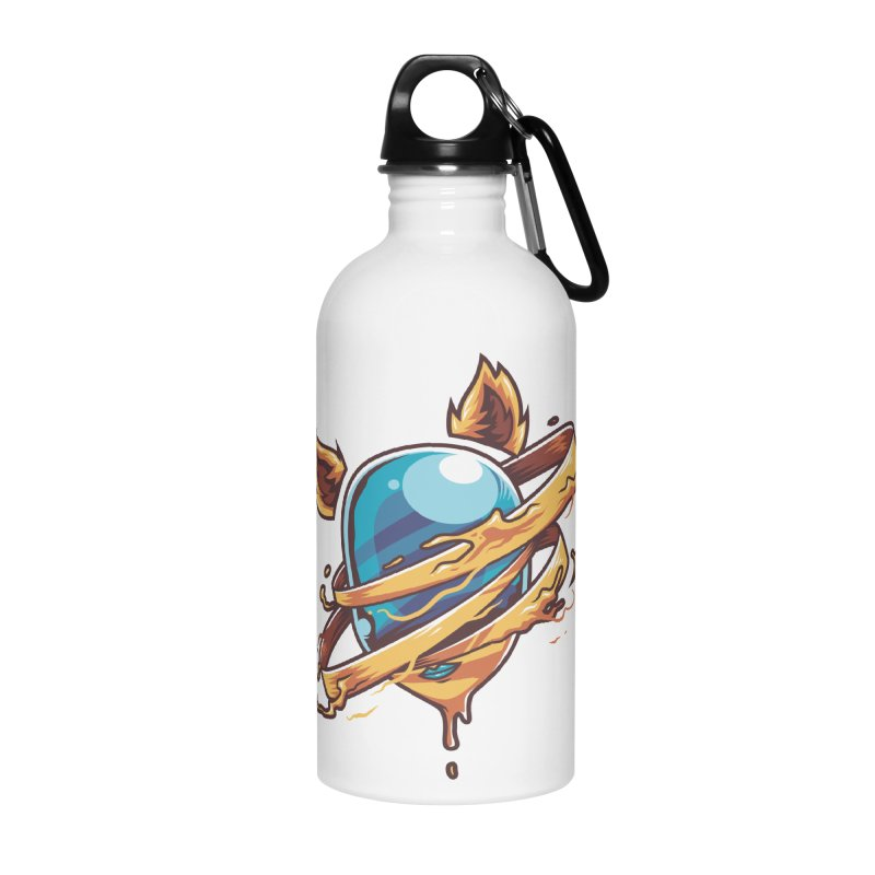 Stubborn Accessories Water Bottle by anggatantama's Artist Shop