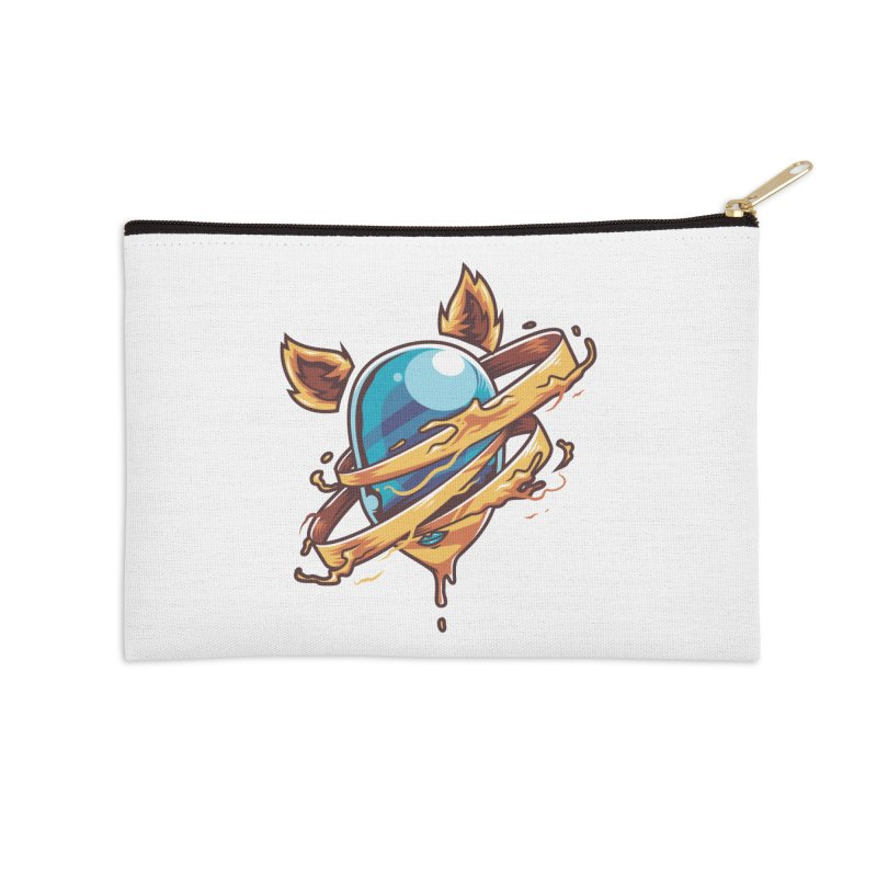 Stubborn Accessories Zip Pouch by anggatantama's Artist Shop